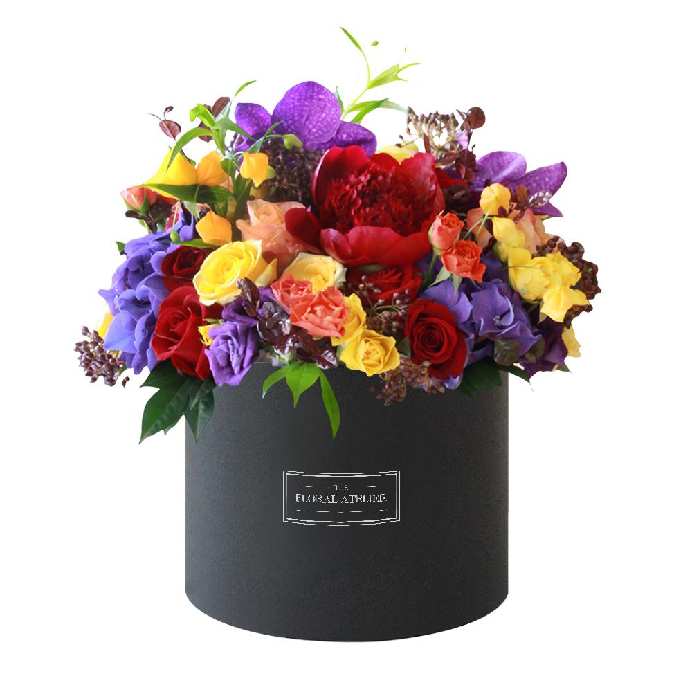 customize square velvet flower box paper packaging from china. Black Bedroom Furniture Sets. Home Design Ideas