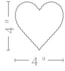 Scallop Heart Cards: www.paperpresentation.com
