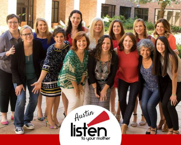 The amazing women of the 2017 Austin Listen To Your Mother cast!