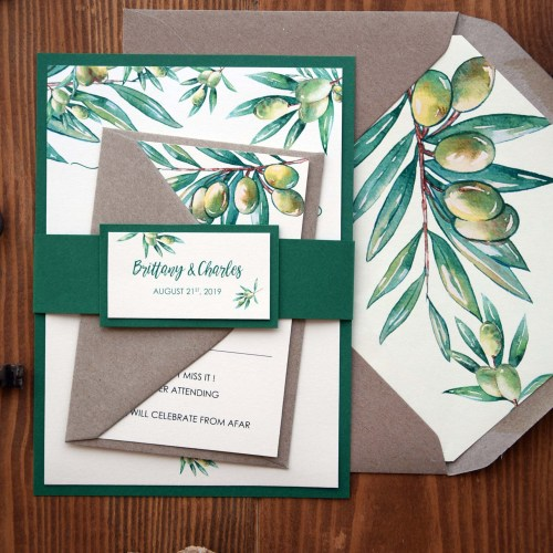 Inviting Modern And Sustainable C House By Studio Arthur: Rustic Chic Floral Wedding Invitations, Boho Wedding