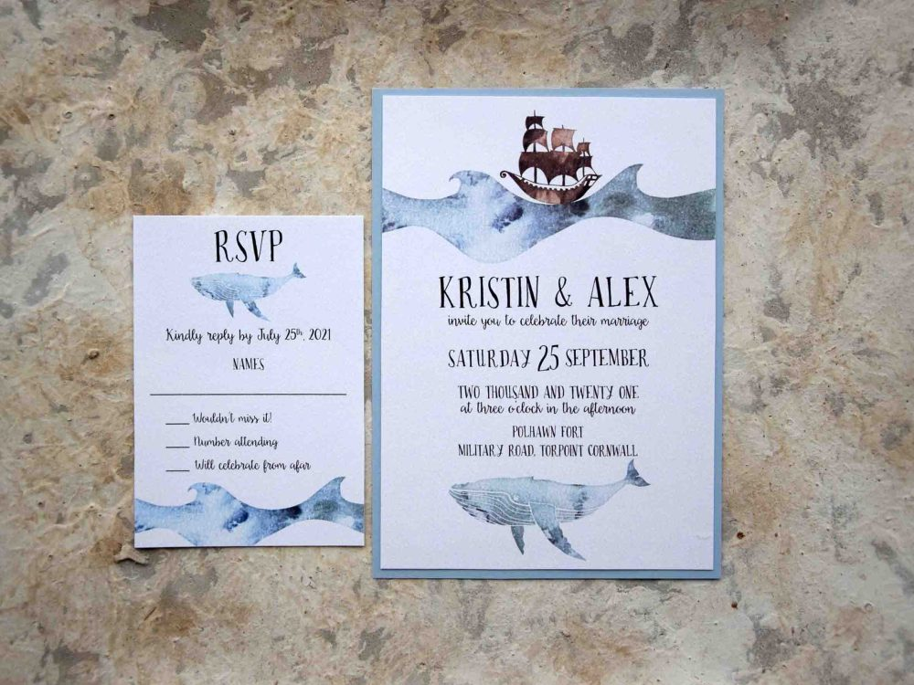 Nautical Wedding Invitations