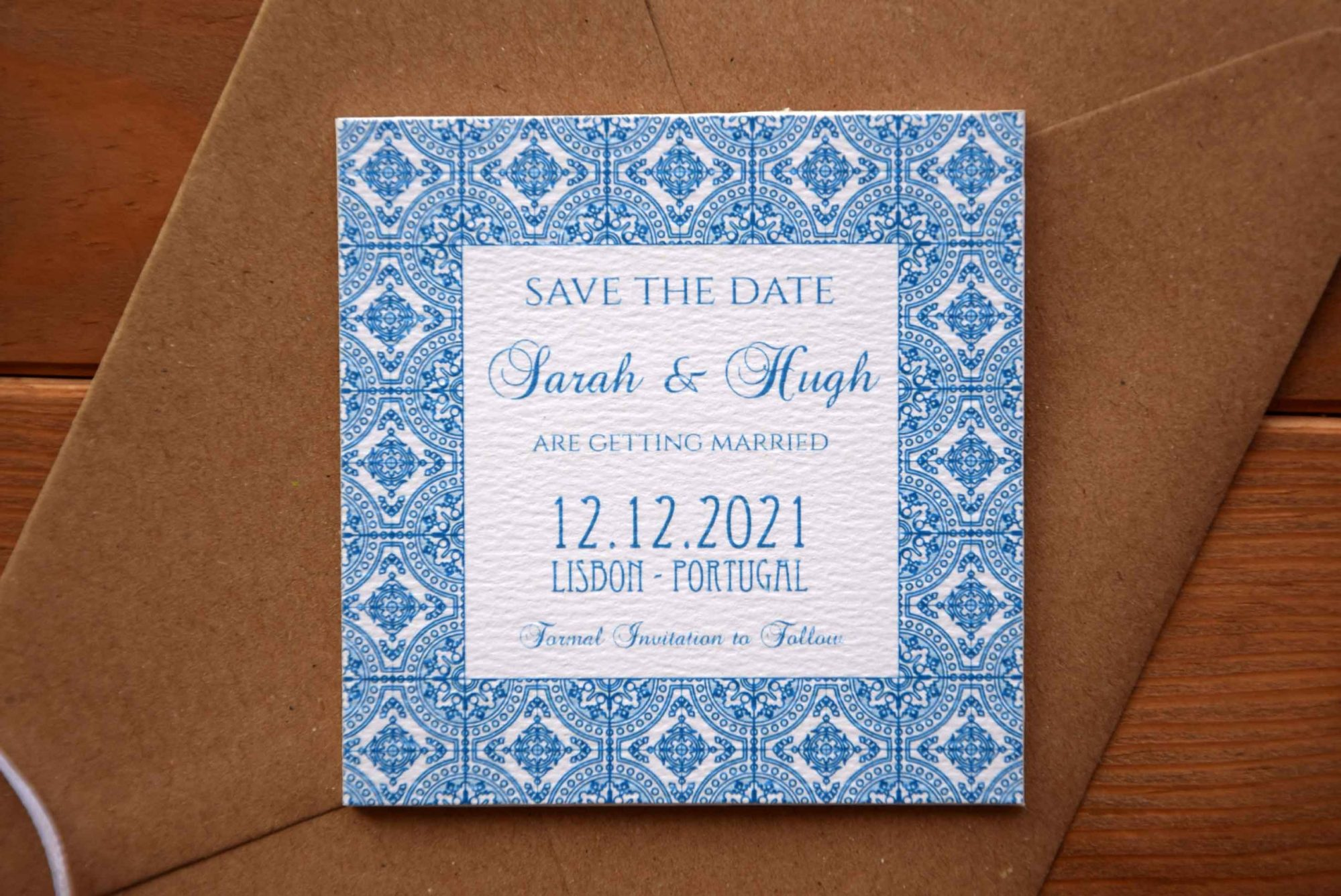 Magnet Tile Wedding Save The Date