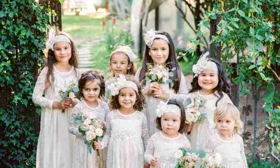 Kids at Wedding Daniel Kim Photography