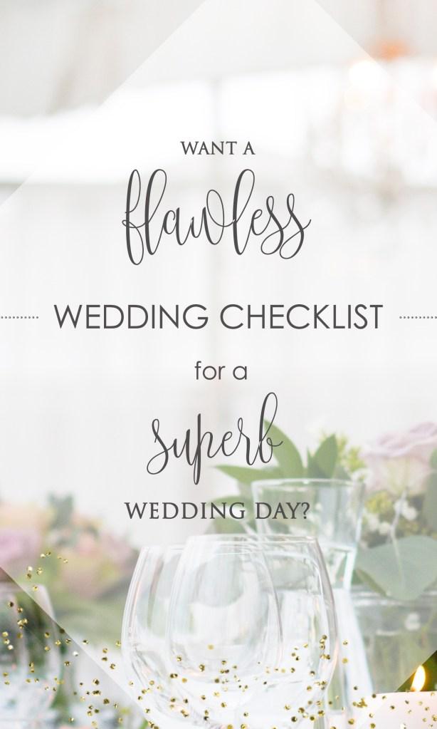 Flawless Wedding Checklist
