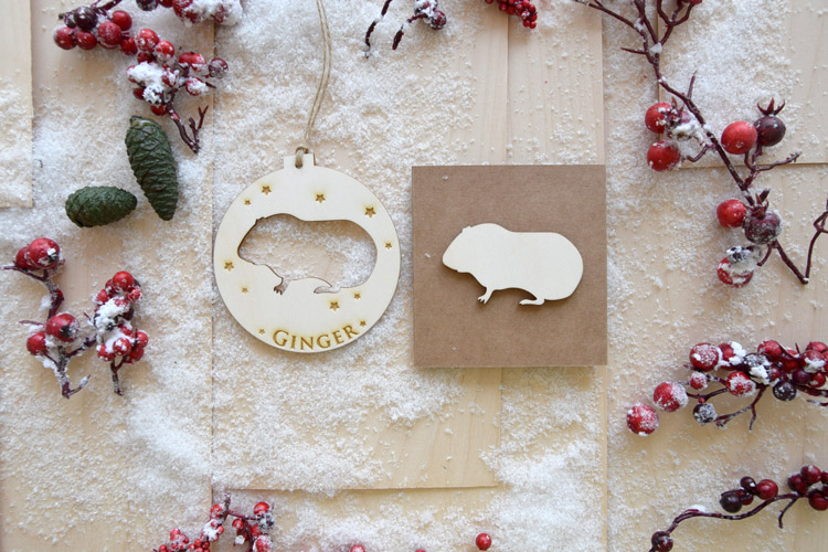 Rodents Christmas Tree Decoration