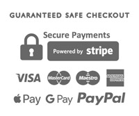 Guaranteed safe payments, powered by stripe