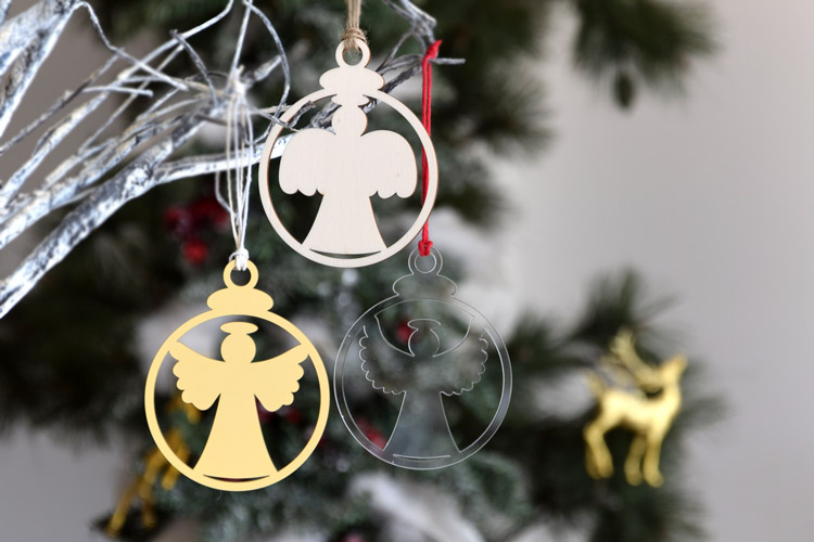 Angels Christmas Tree Ornaments