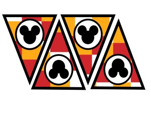 Mickey-Mouse-banner-checkered