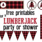 Lumberjack Party Free Printables