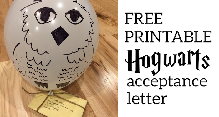 photo relating to Printable Hogwarts Letter named Harry Potter Hogwarts Recognition Letter - Paper Path Structure