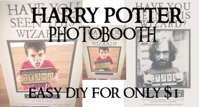 Harry Potter Party Photobooth Easy DIY Paper Trail Design