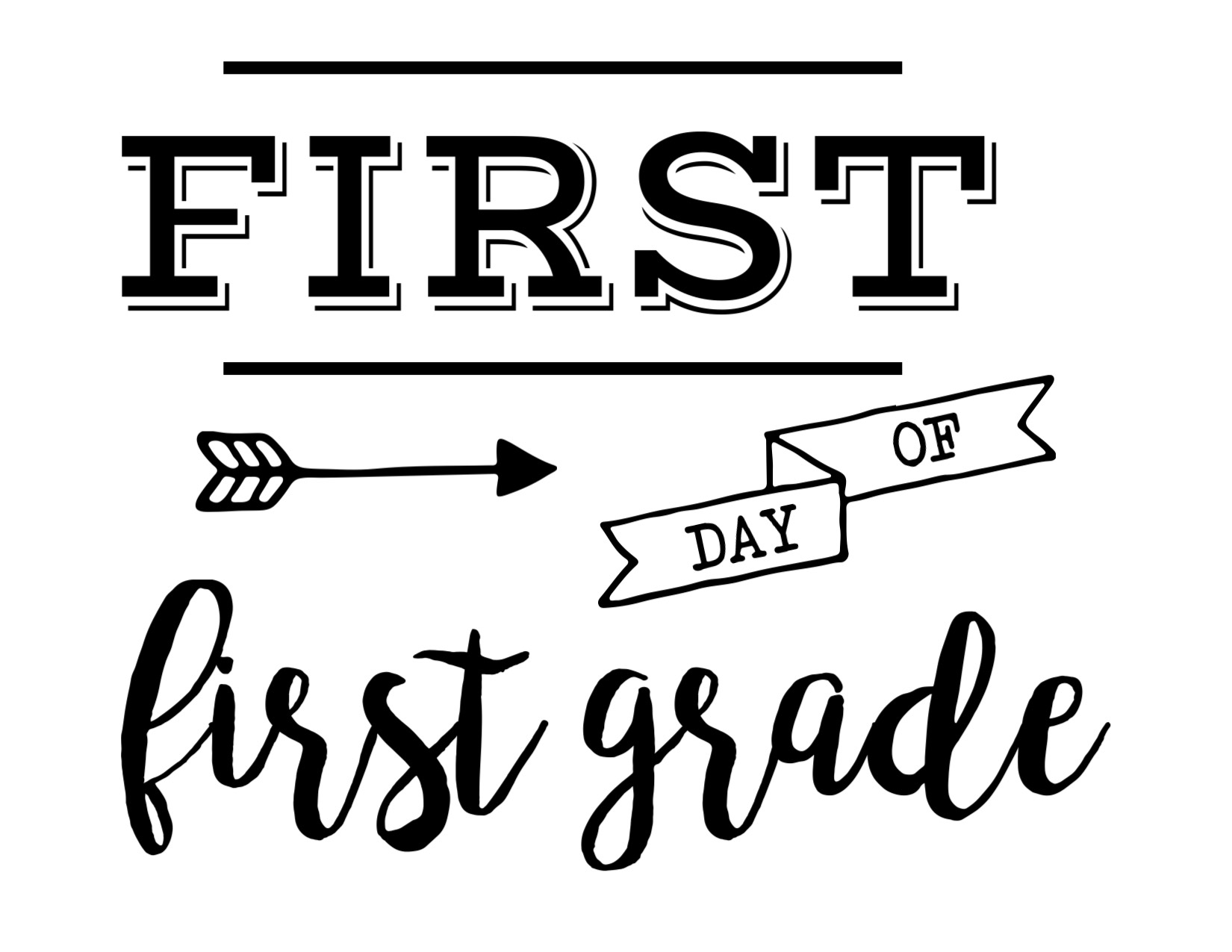 Image result for first last day of first grade
