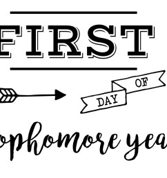 First Day of School Sign Free Printable   Paper Trail Design [ 1275 x 1650 Pixel ]
