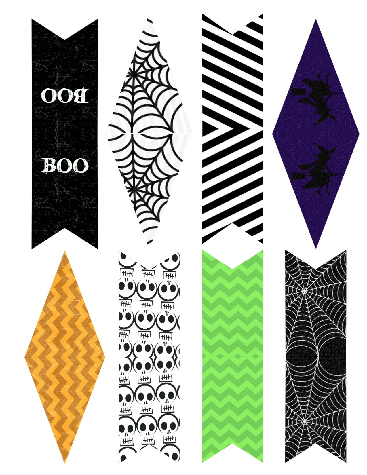 This is a picture of Decisive Printable Halloween Banner