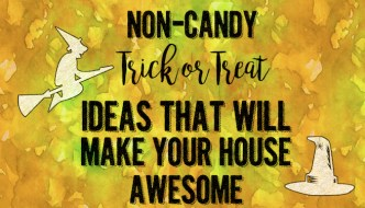 Non-Candy Halloween Trick or Treat Ideas {Halloween Candy Alternatives}