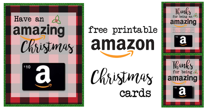 picture about Free Printable Photo Christmas Cards titled Printable Xmas Present Card Holders for Amazon - Paper