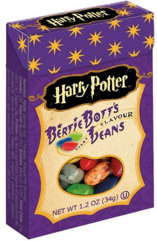 Harry Potter Bertie Bott's Every Flavour Beans make for one of the best Harry Potter gifts.