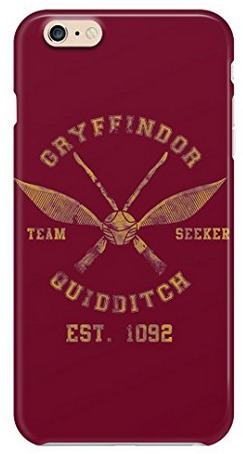 Gryffindor quidditch phone case is one of the best Harry Potter gifts!