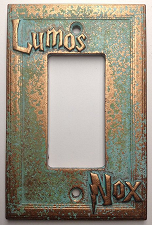 Harry Potter Lumos Nox Light Switch Cover makes for one of the best Harry Potter gifts.
