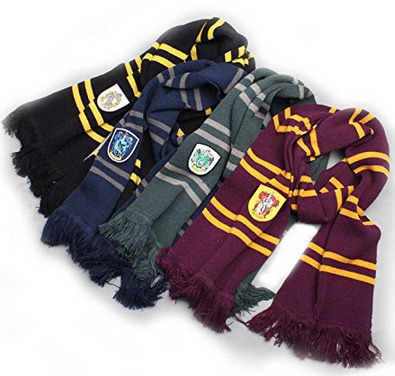 Hogwarts House Scarf makes for one of the best Harry Potter gifts.