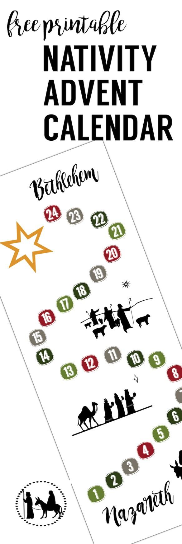 free advent calendar printable paper trail design. Black Bedroom Furniture Sets. Home Design Ideas
