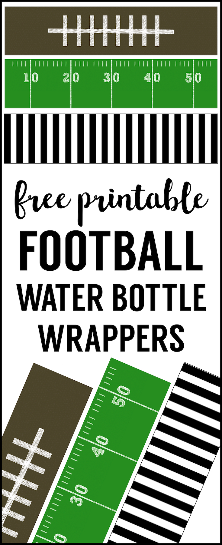 Check out these free printable and recipe ideas that you can use for your next football party. What a great way to start the season. Football season is back. Check out these free printable and recipe ideas that you can use for your next football party. What a great way to start the season Football Party and Free Printables.