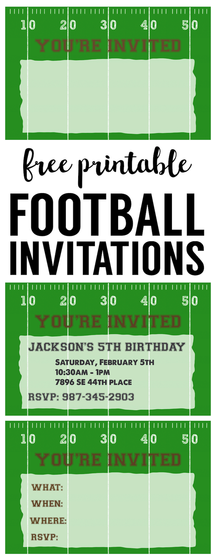 It is an image of Amazing Super Bowl Party Invitations Free Printable