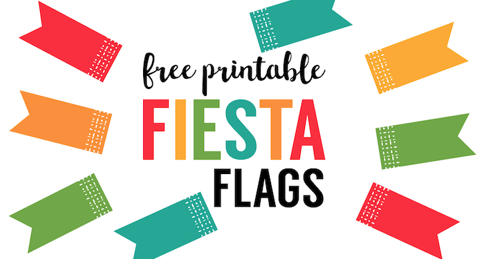 image relating to Printable Flags called Fiesta Cupcake Toppers No cost Printable Flags - Paper Path