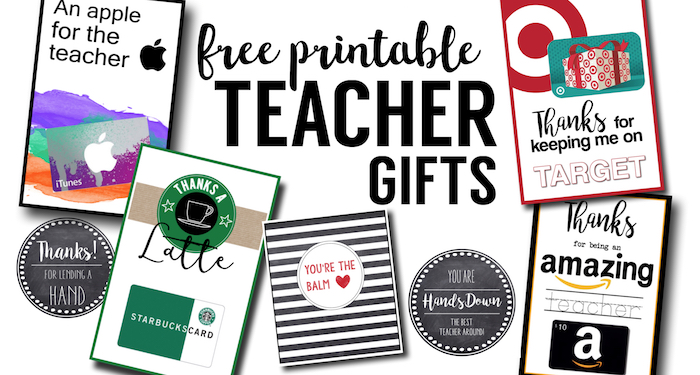Free Printable Teacher Thank You Cards Ideas Paper Trail Design