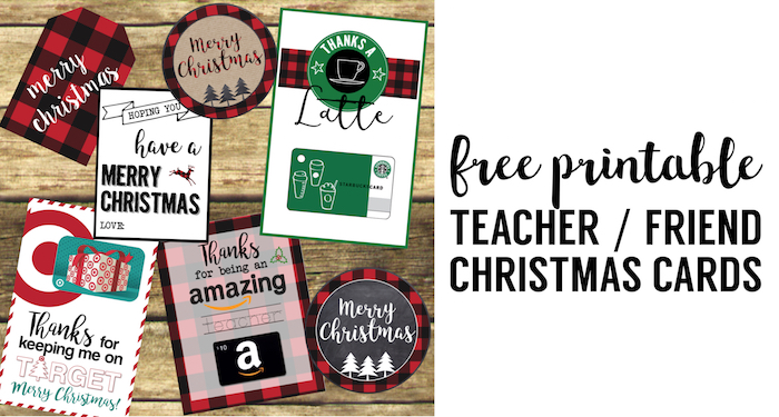Best Teacher Christmas Gift Ideas Paper Trail Design