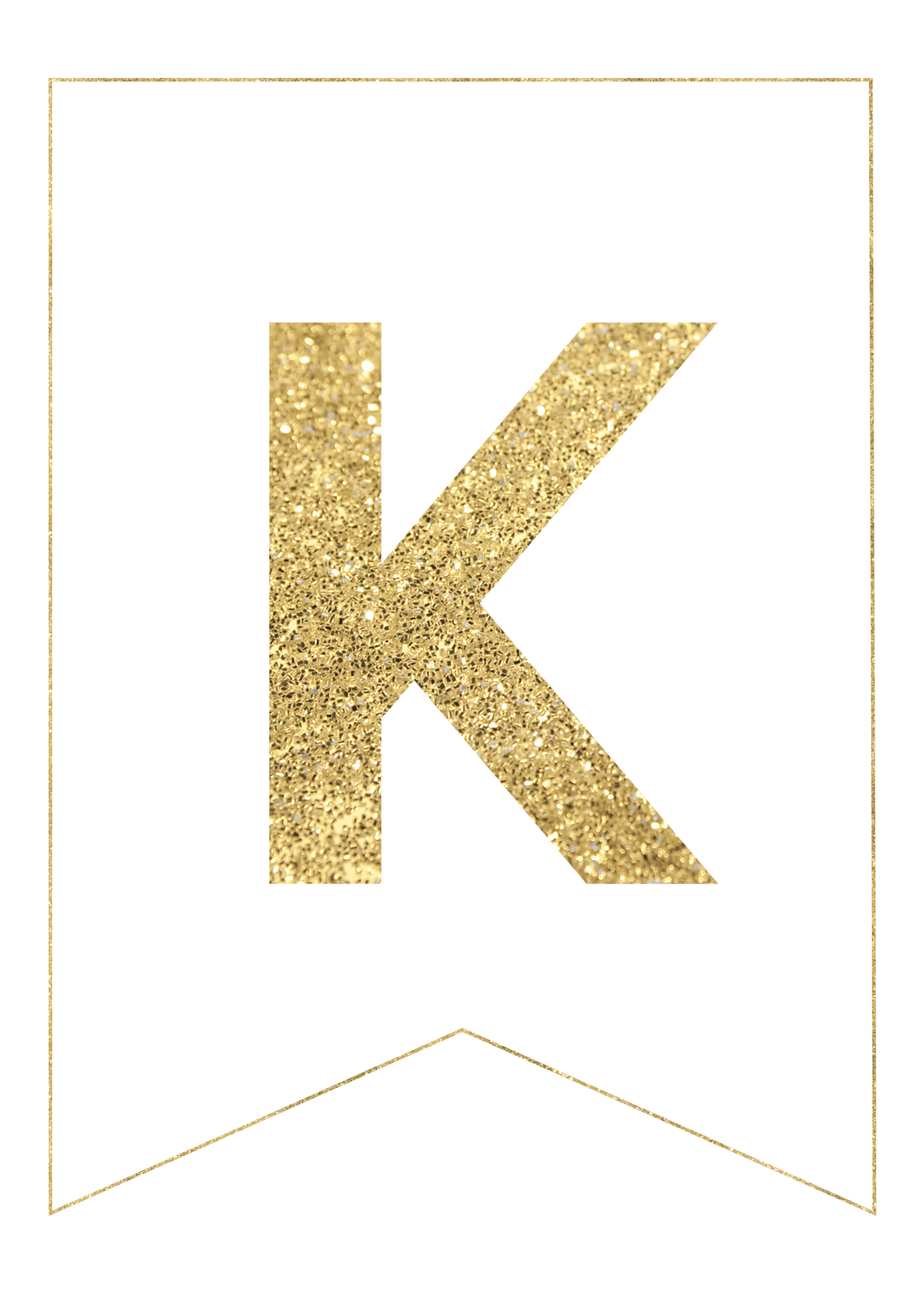 gold free printable banner letters paper trail design With gold letter printing