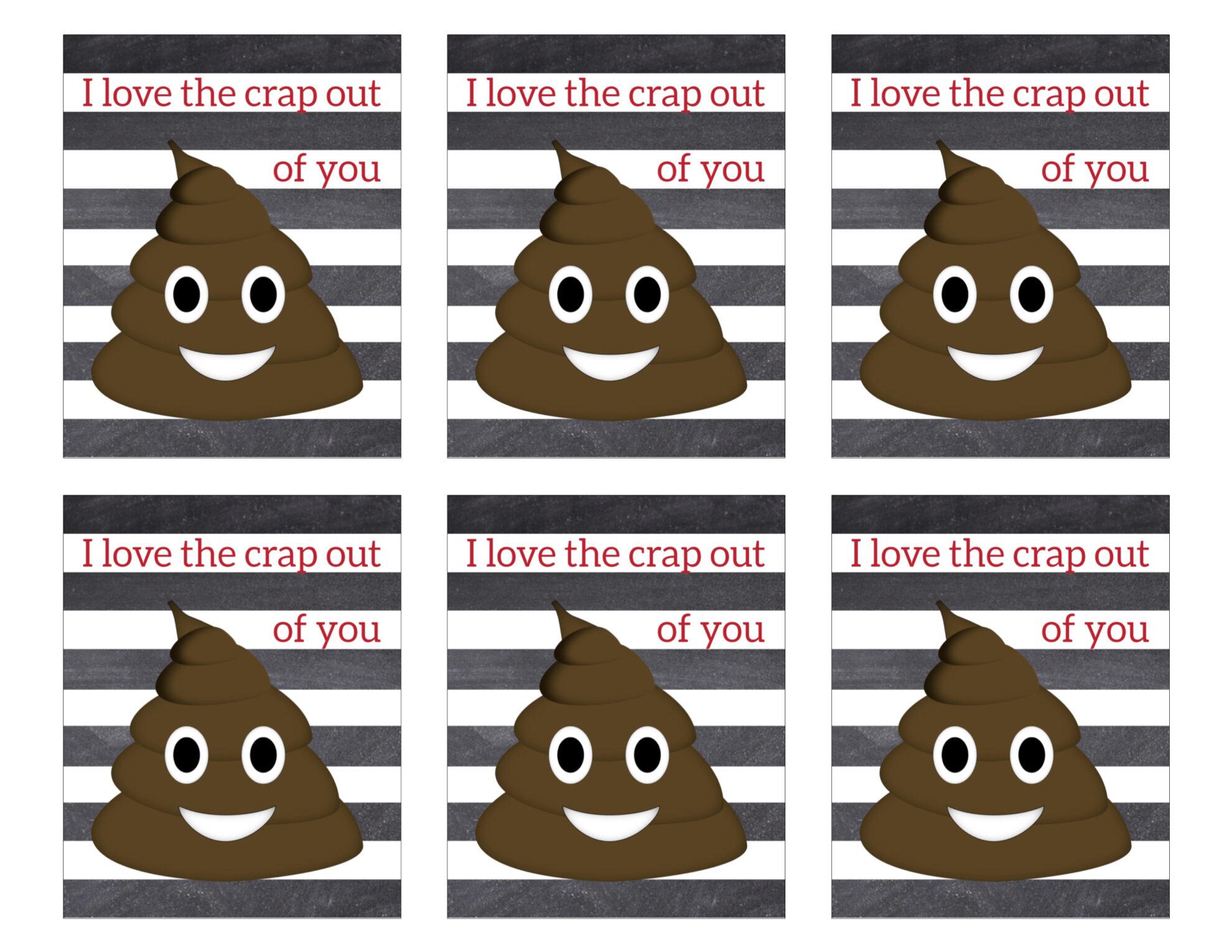 This is a graphic of Gutsy Printable Poop Emoji