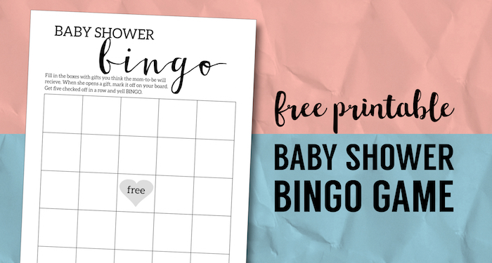 photo relating to Spring Bingo Game Printable known as Kid Shower Bingo Printable Playing cards Template - Paper Path Design and style