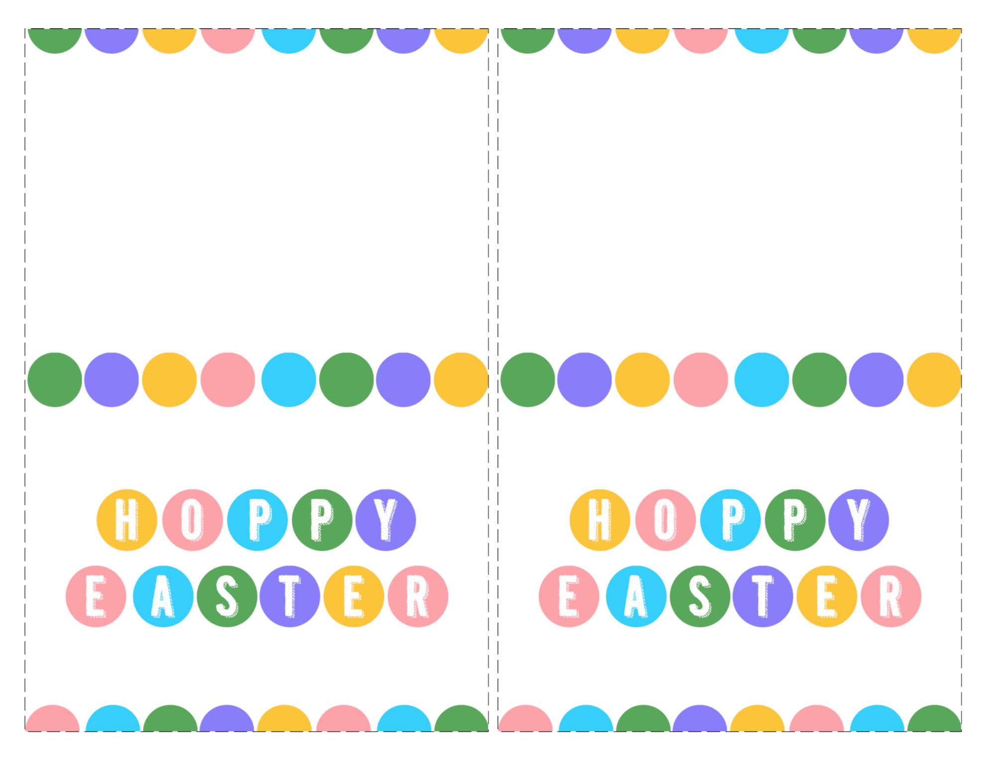 Impeccable image with easter card printable