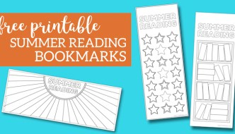 Summer Reading Log Bookmark Printable Tracker