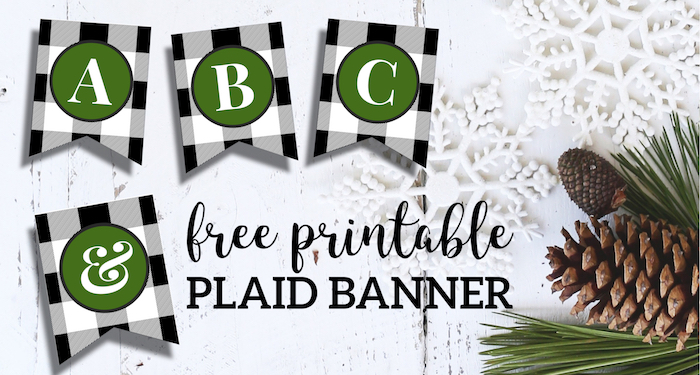 photo about Printable Christmas Banner known as Totally free Printable Xmas Banner Letters Template - Paper