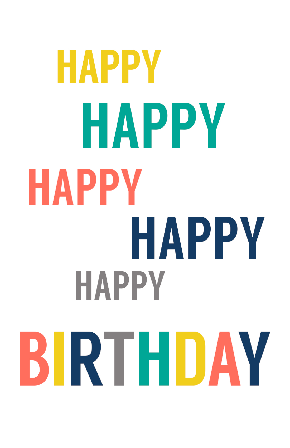 It's just a picture of Lively Happy Birthday Card Printable Free