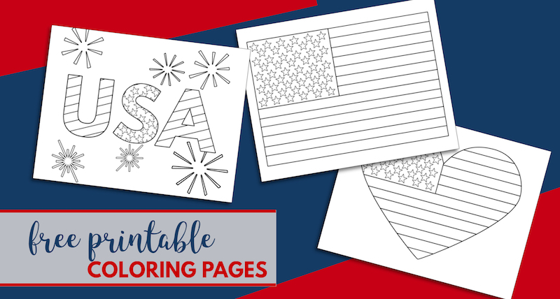 photo about Free Printable 4th of July Coloring Pages titled No cost Printable 4th of July Coloring Internet pages - Paper Path Style