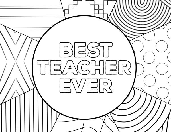 teacher appreciation coloring pages # 22