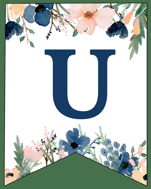 Blue Letter B Printable