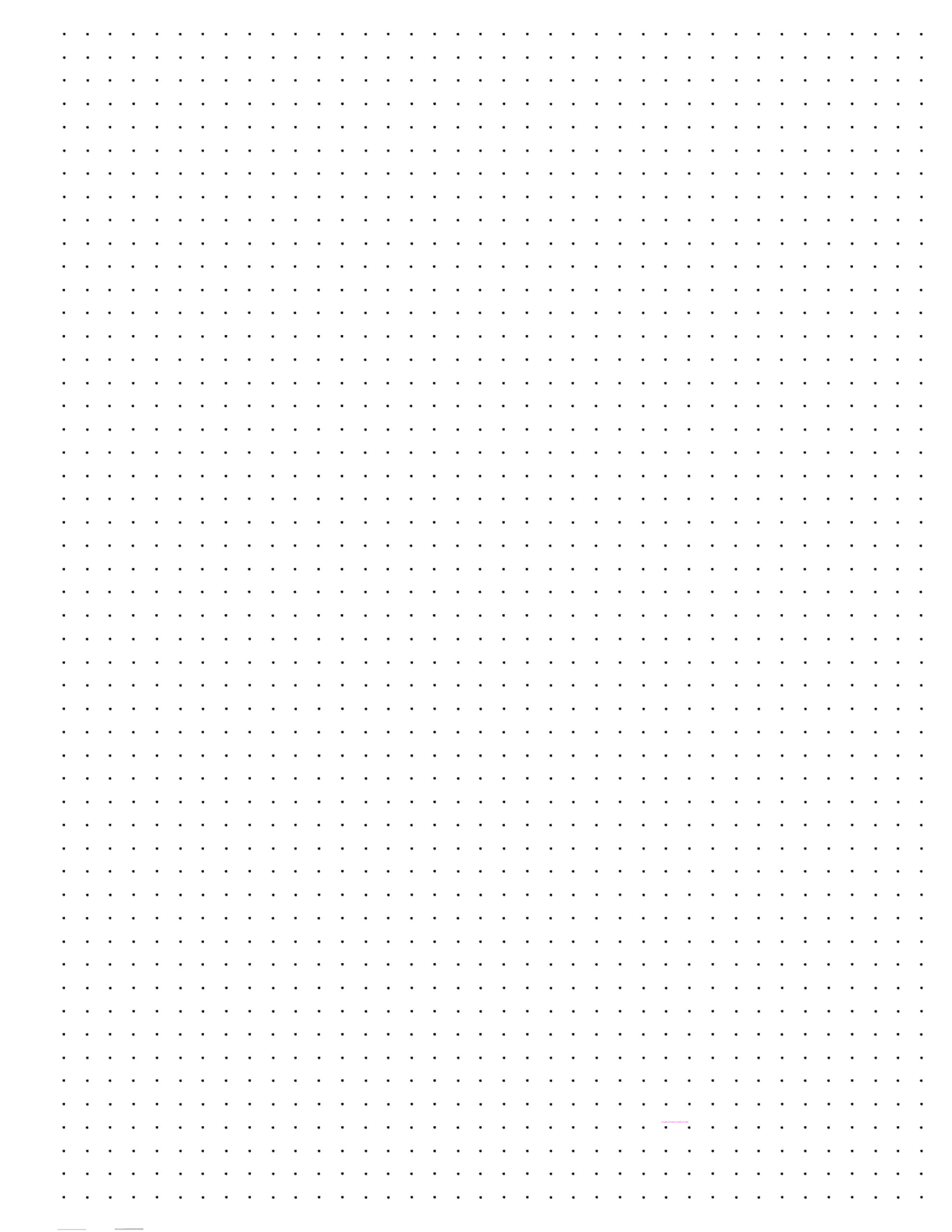 image about Printable Dot Grid called Pleased Planner Dot Grid Paper Absolutely free Printable - Paper Path Style