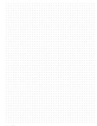 Dot grid paper in 8.5x11 big happy planner size.