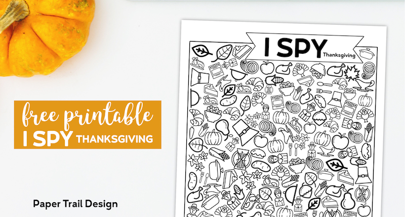 I Spy Pictures >> Free Printable I Spy Thanksgiving Activity Paper Trail Design
