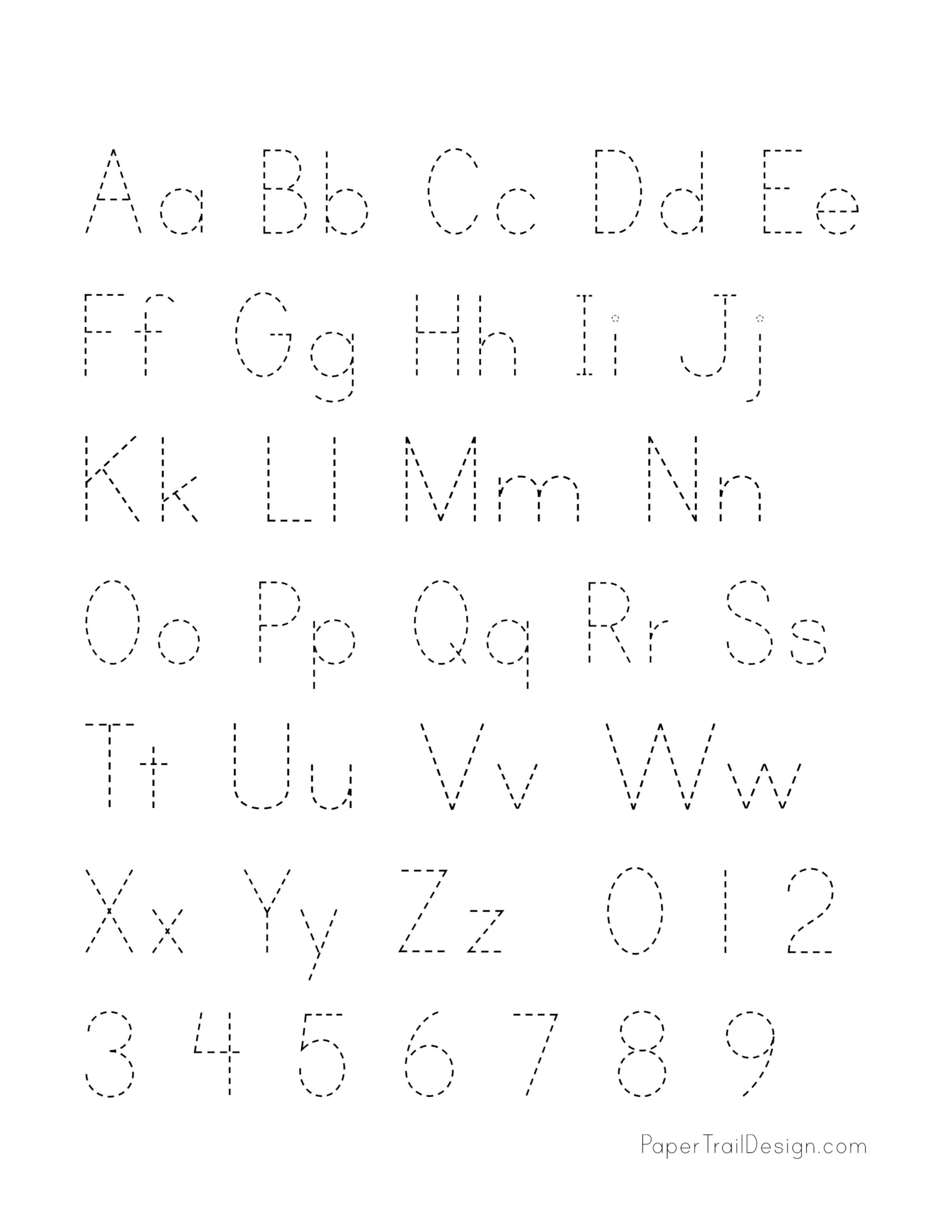 hight resolution of Free Printable Alphabet Handwriting Practice Sheets   Paper Trail Design