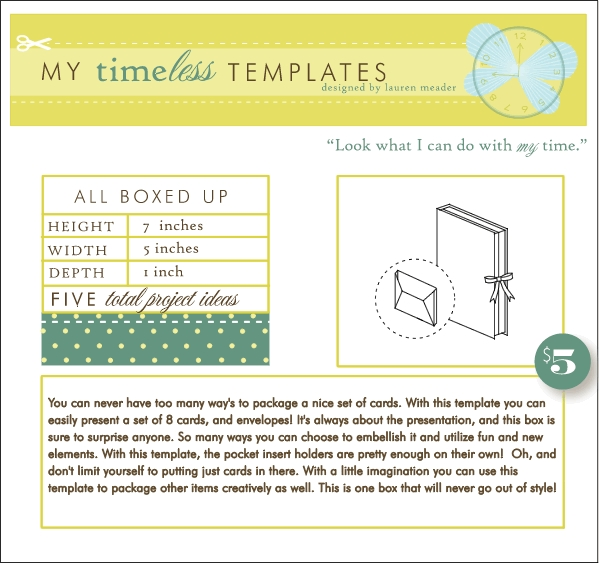 my timeless templates all