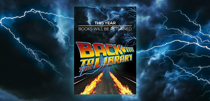 back to the future library poster for school