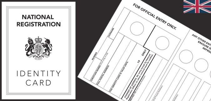 world war 2 identity card