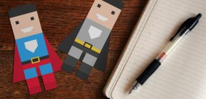 printable superhero bookmarks free