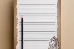 ancient egypt writing template border stories free