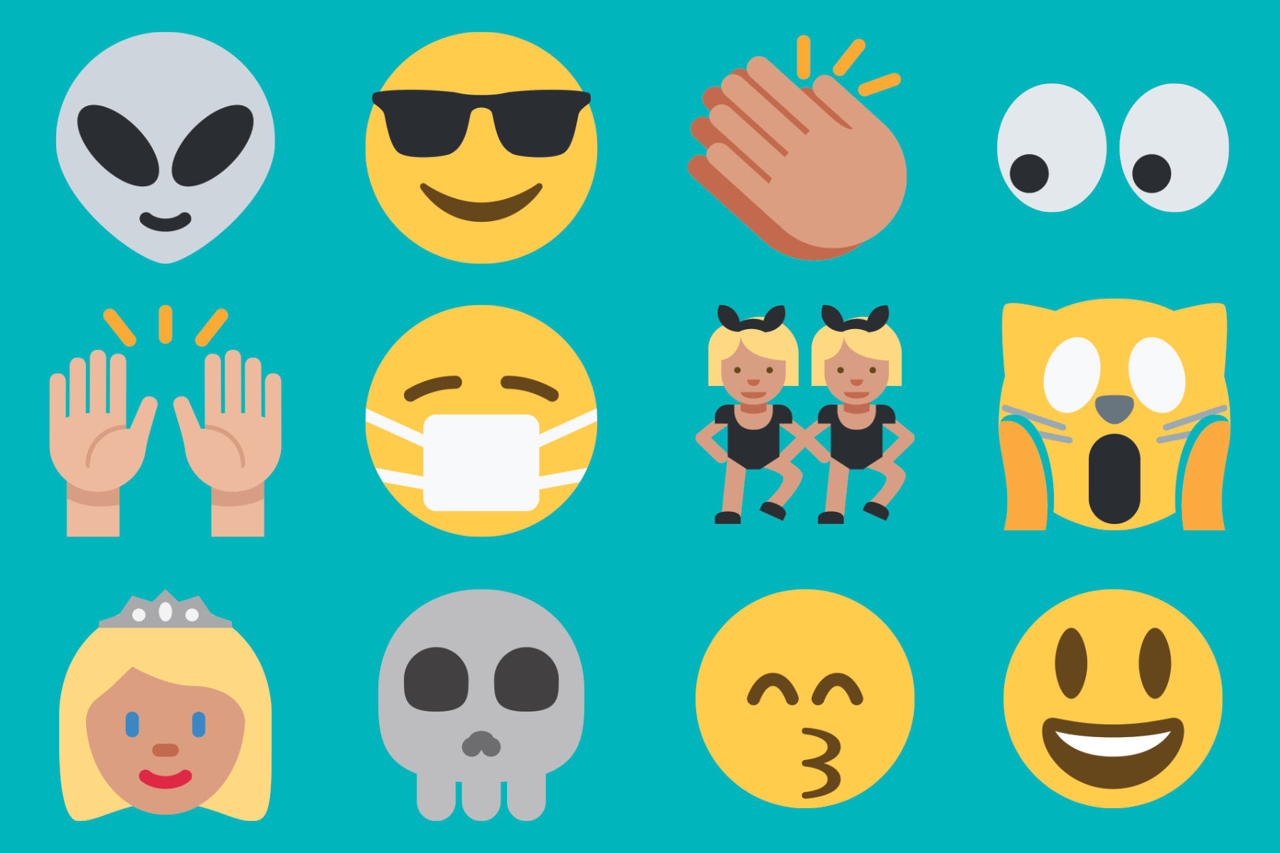 picture about Large Printable Emojis titled Superior Emoji Icons Us residents - PAPERZIP